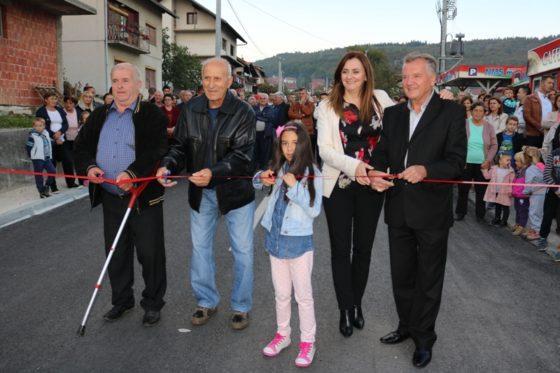 Ulica Petra Kočića svečano puštena u upotrebu (Audio)